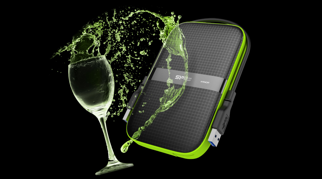 Armor A60 Powerful gear featuring shockproof and water-resistant functions