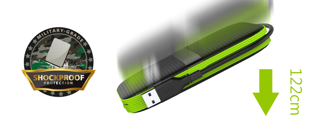 Armor A60 Shockproof & Water-resistant