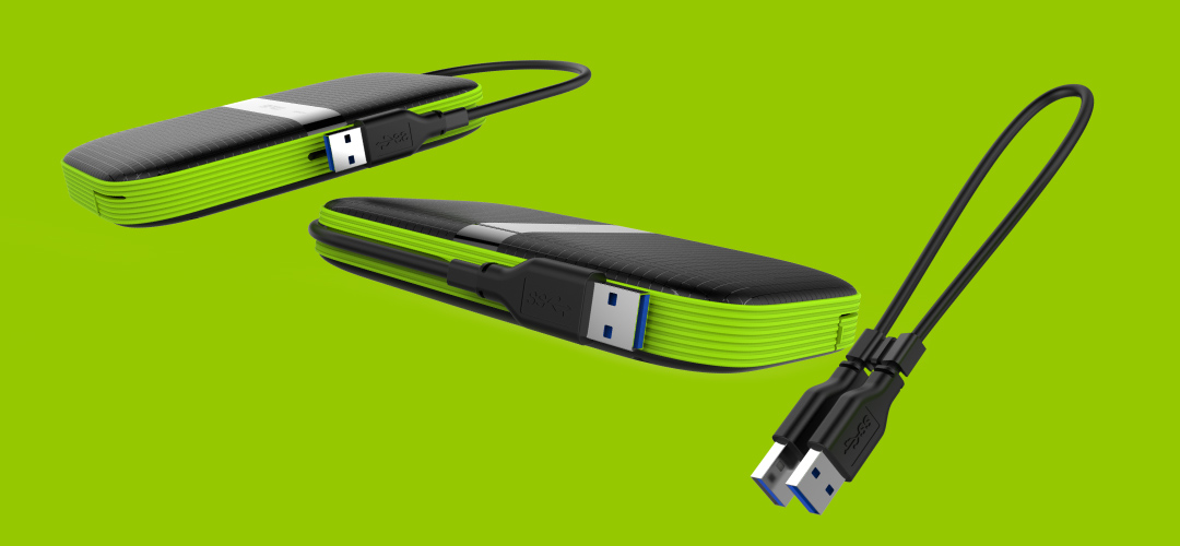 Armor A60 Cable-carry design