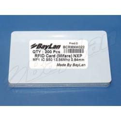 Cards RFID PVC BCRMNW322