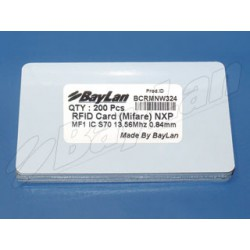 Cards RFID PVC BCRMNW324
