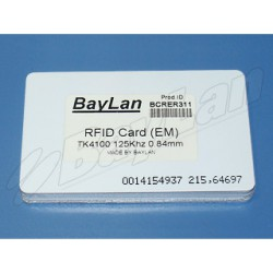 Cards RFID PVC BCRER311-18