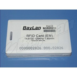 Cards RFID PVC BCRER211