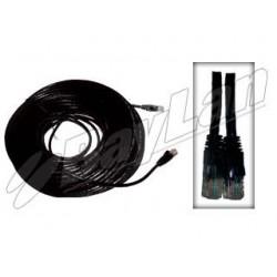 Drop/Patch Cables   UTP Cat-6 BPCU6S20MBK