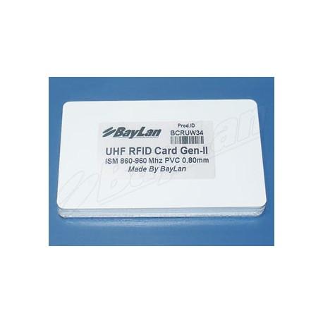Cards RFID PVC BCRUW34