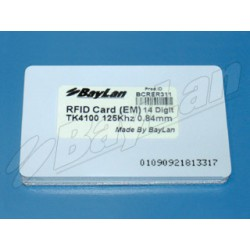 Cards RFID PVC BCRER311-14