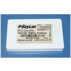 Cards RFID PVC BCRER311-10