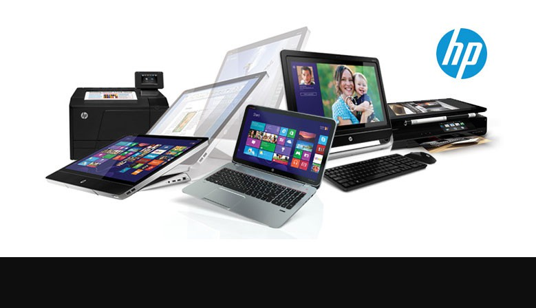 HP Products Banner